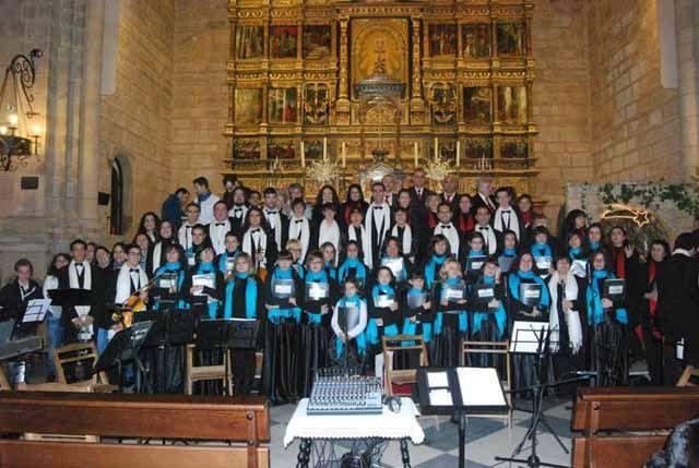 """Celebrado el concierto de corales """"Navidad para todos con Música del Alma"""""""