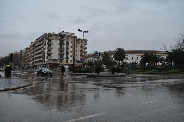 Día gris en Linares