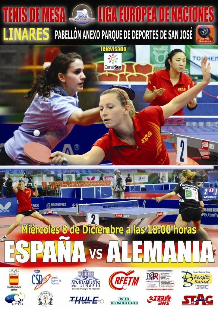 Tenis de Mesa internacional en Linares