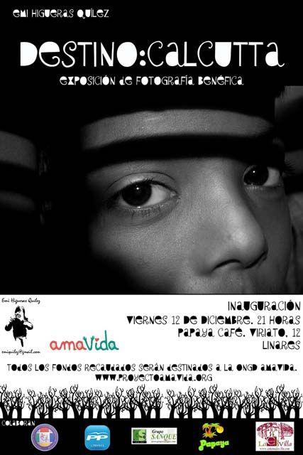"""Amavida inaugura la exposición de fotografía benéfica """"Destino: Calcutta"""""""