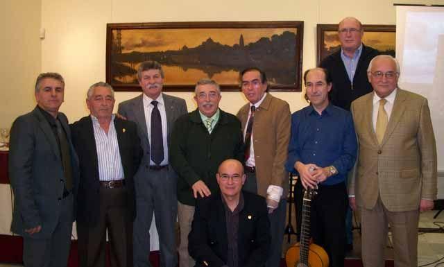 Tarantas en el Aula Flamenca del Círculo de La Amistad–Liceo Artístico y Literario de Córdoba
