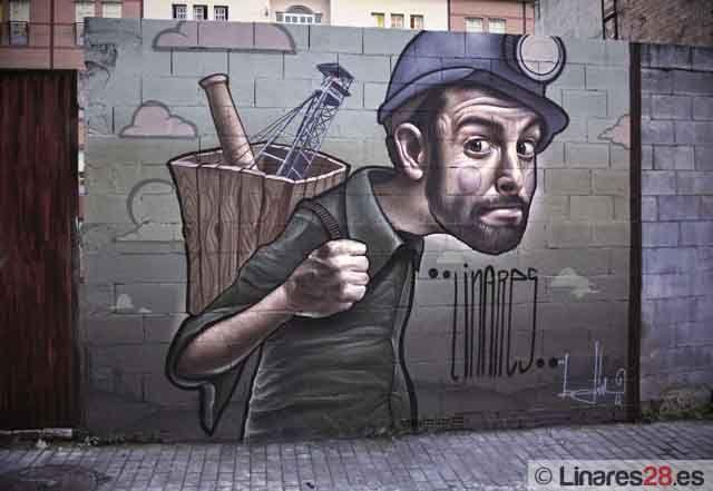 Belin pinta su Linares particular