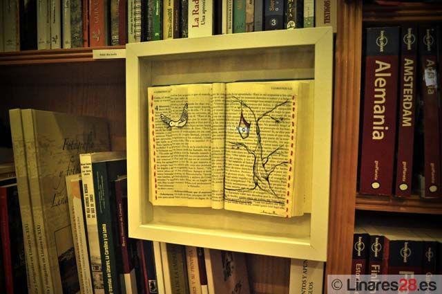 Exposición de La Casa Pintada sobre los libros