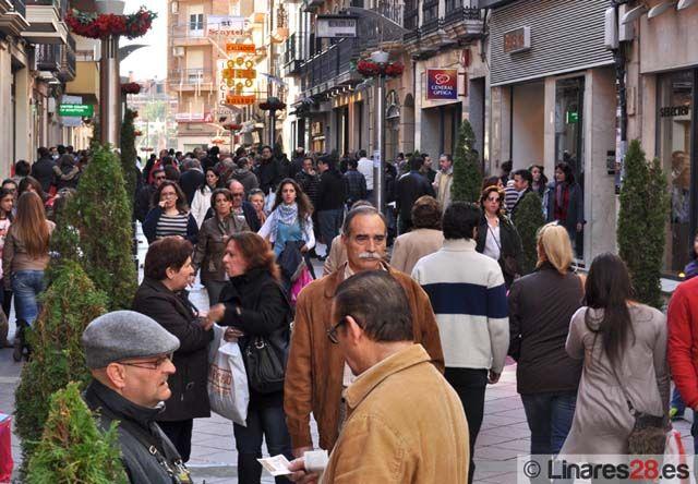 Estadísticas del paro y contratos registrados en Linares en febrero de 2011