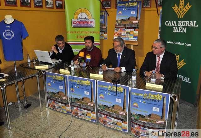 """Presentada la III Carrera de Fondo de Linares """"Distrito Minero"""""""
