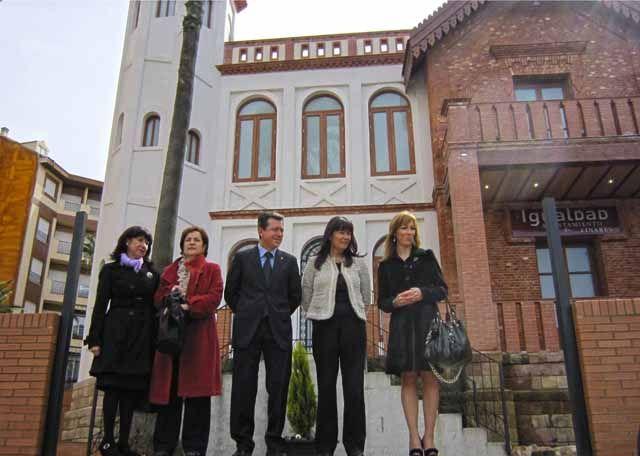 Inaugurado el Centro de Igualdad en el edificio de Villa María