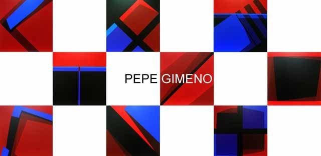 Exposición de pinturas de Pepe Gimeno