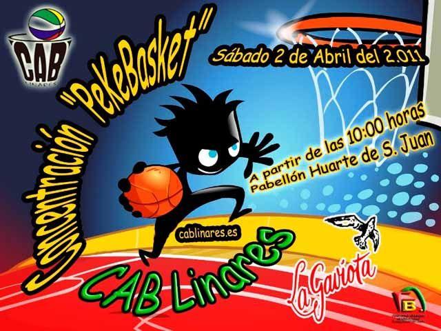 El CAB Linares organiza un Pekebasket