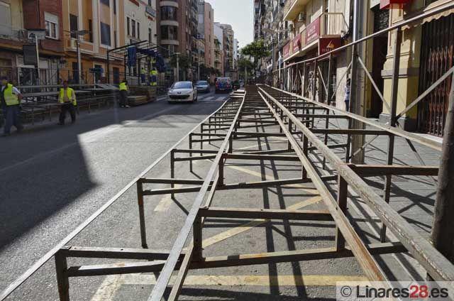 Linares se prepara para la Semana Santa