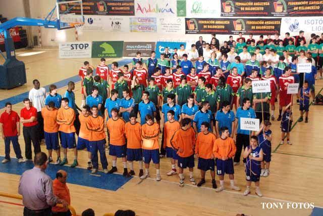 Primera jornada del Campeonato de Andalucía de Baloncesto Junior Masculino