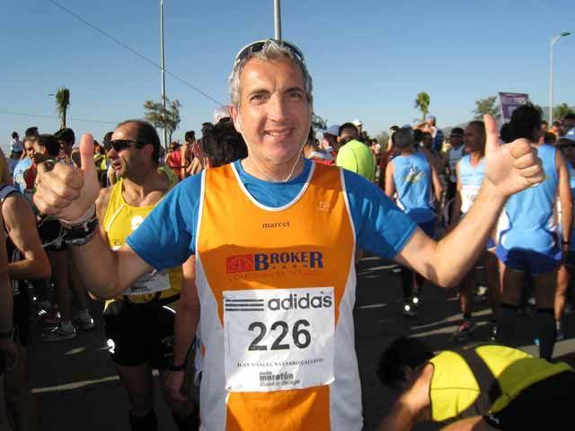 El Club de Fondo La Cabria de Linares en la XXI Media Maratón Ciudad de Málaga