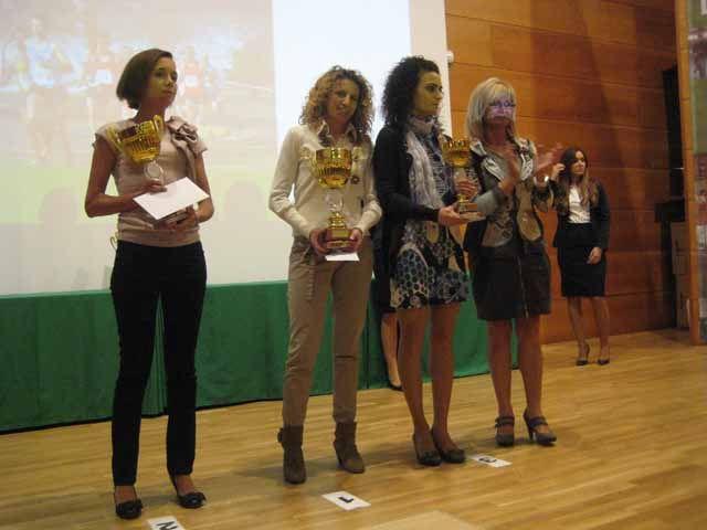 Entrega de premios del XIV Circuito de Campo a Través