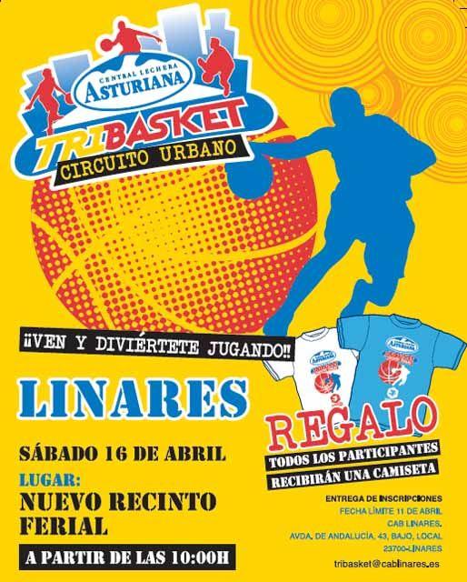 """TRIBASKET """"Circuito Urbano"""" organizado por el CAB. Linares"""
