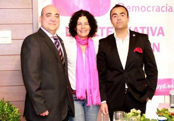 Presentación de la Candidata a la Alcaldía de Linares por UPyD