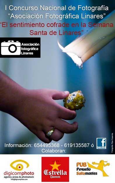 Concurso de Fotografía – El sentimiento cofrade en la Semana Santa de Linares