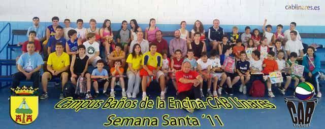 I Campus de Semana Santa Baños de la Encina-CAB Linares 2011