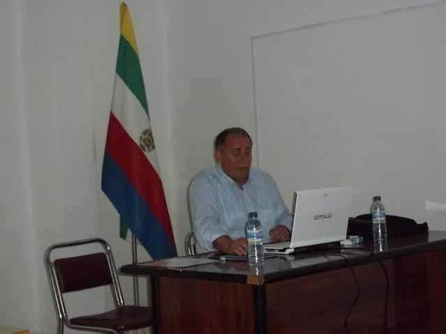 Conferencia sobre el Tranvía de Linares