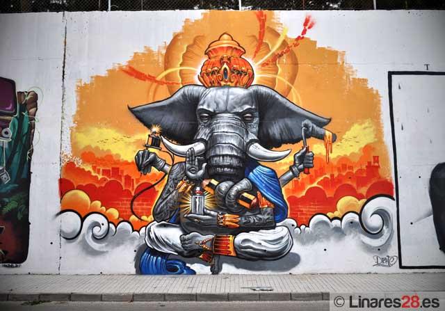 Arte en la calle Camelia