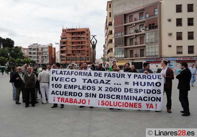 Concentración de los trabajadores de Fasur y el Parque de Santana