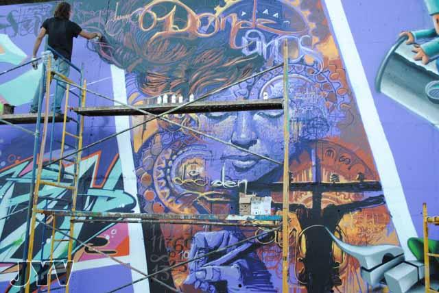 Fotos Concurso Graffiti de Linares