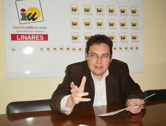 Entrevista a Sebastián Martínez, candidato de Izquierda Unida a la alcaldía de Linares