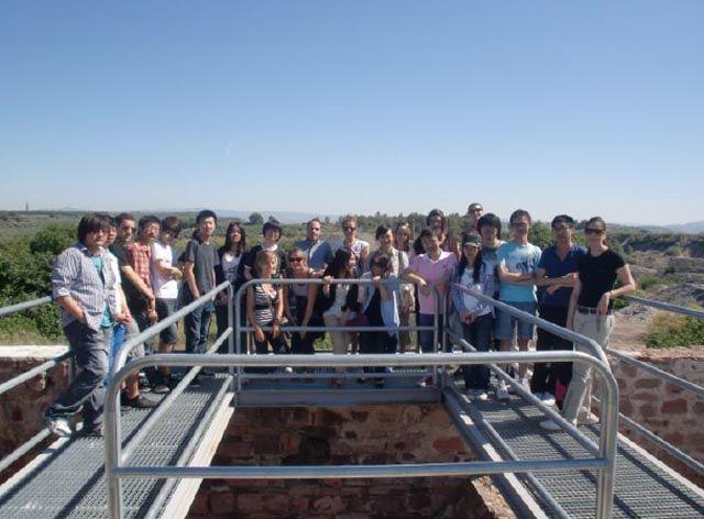 Estudiantes chinos visitan el Patrimonio Minero linarense