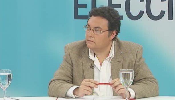 Sebastián Martínez en los debates de Canal Sur
