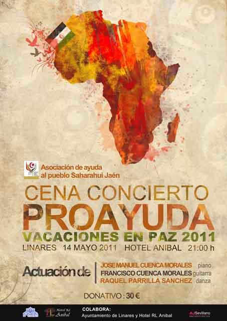 """Cena concierto proayuda """"Vacaciones en Paz 2011"""""""