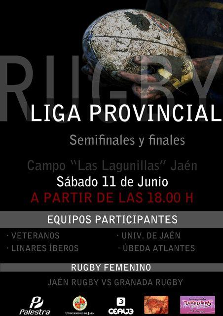 El Íberos en la gran final del torneo de rugby en Jaén