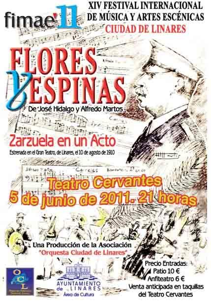 """""""Flores y Espinas"""" en el Teatro Cervantes"""