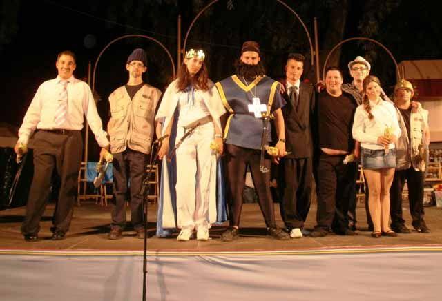 Taller de Teatro en las Fiestas del Voto