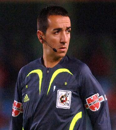 El colegiado linarense Pedro Jesús Pérez Montero ha ascendido a la 1ª División del Fútbol Nacional
