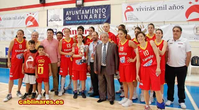 3ª Jornada del Torneo Internacional de Baloncesto femenino Ciudad de Linares