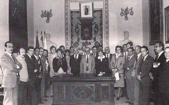 Julián Jiménez Serrano, Alcalde de Linares de 1979 a 1982