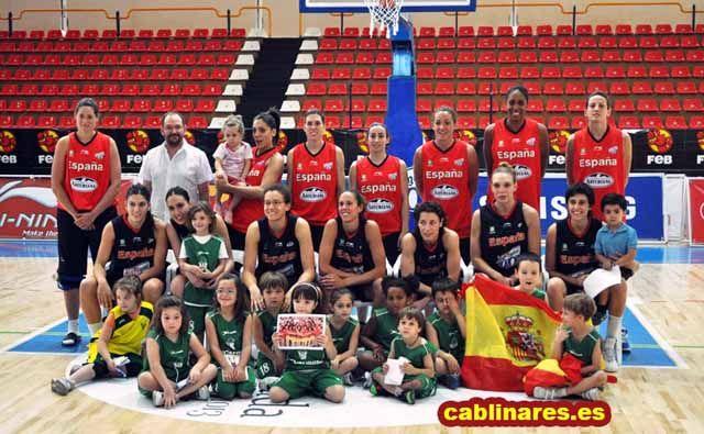 La Cantera del CAB. Linares con la Selección Española Femenina