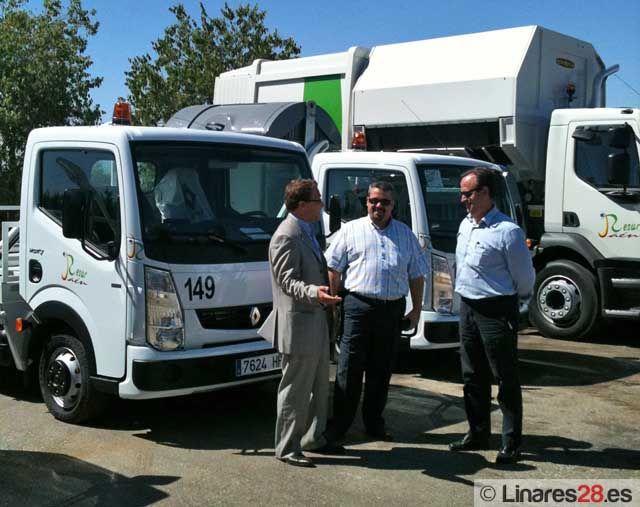 Presentados los nuevos vehículos para la recogida de basura