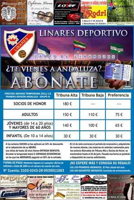 El Linares Deportivo comienza su campaña de abonados