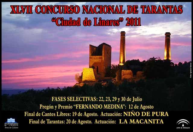 """XLVII Concurso Nacional de Tarantas """"Ciudad de Linares"""""""