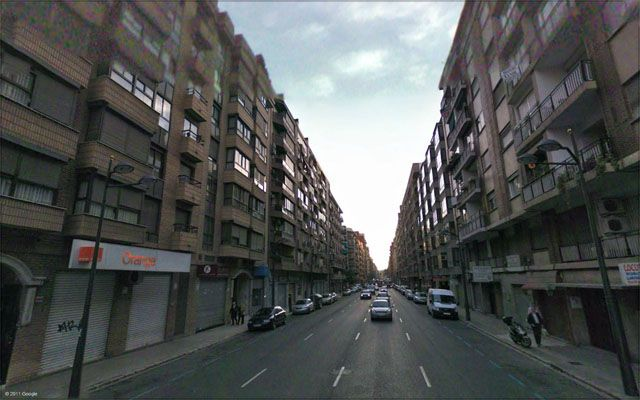 Calle Linares. Valencia