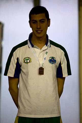 Tres oros para el nadador linarense Javier Tirado Peiro
