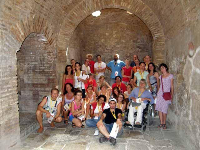 Participantes de las JMJ visitan el Palacio de Villardompardo