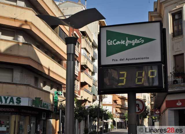 Alerta amarilla en Linares por altas temperaturas