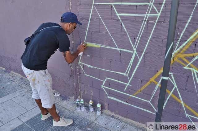 """El """"graffiti"""" ya atrae visitantes hasta Linares"""