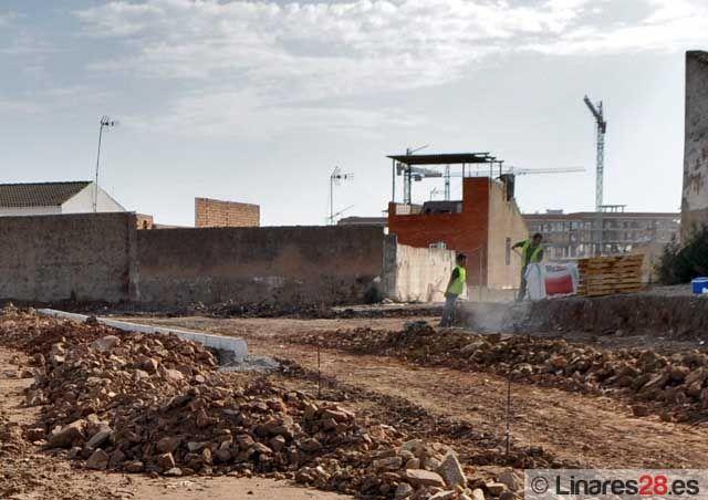 """Obras de reurbanización en """"El Cerro"""""""