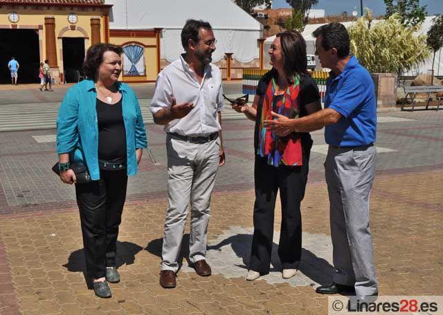 La Consejera de Presidencia, Mar Moreno, visita la Feria