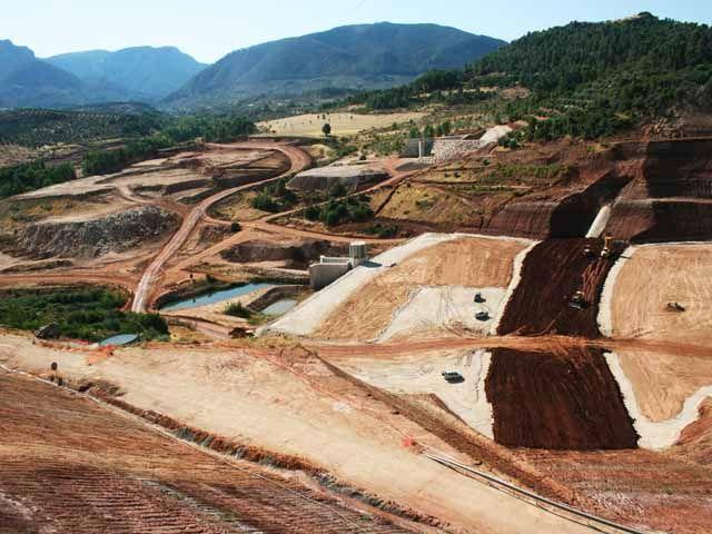 Las obras de la presa de Siles ya se encuentran a un 80 por ciento de ejecución