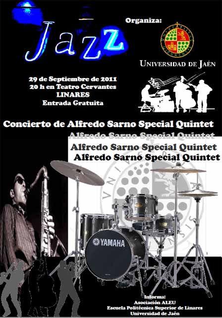 Concierto de Alfredo Sarno Special Quintet