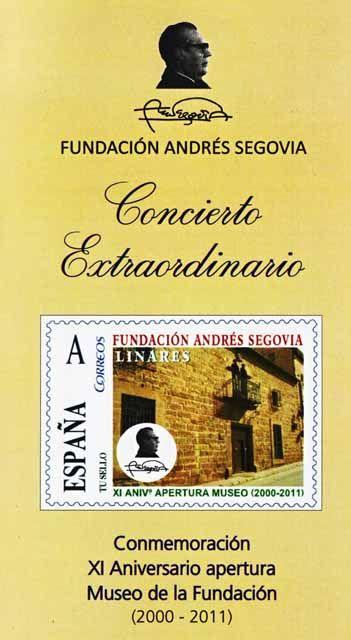 Concierto extraordinario en la Fundación Andrés Segovia