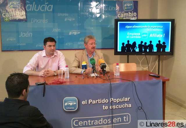 El Partido Popular de Linares comienza una campaña de afiliación