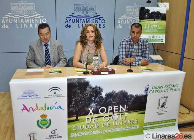 """Presentado el """"X Open de Golf Ciudad de Linares"""""""